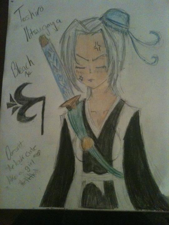 toshiro hitsugaya from bleach