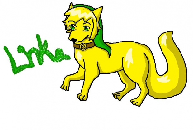 Link Wolf Form