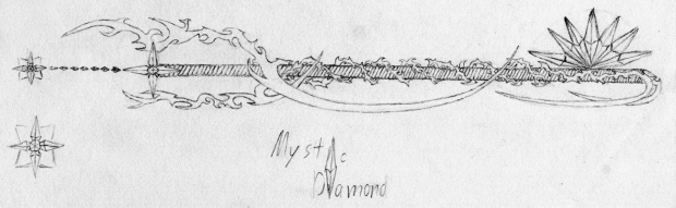 Mystic Diamond, Keyblade-deatiled