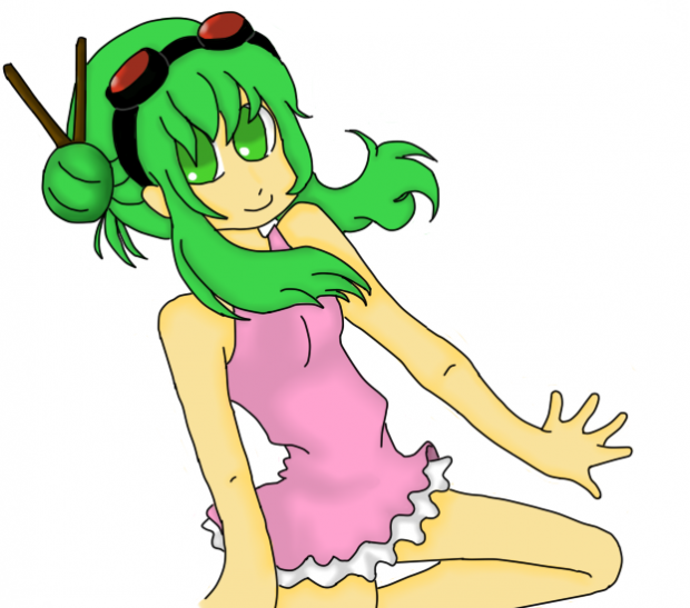 Gumi Megpoid - Coloured