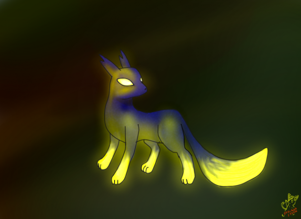Glowing Fox