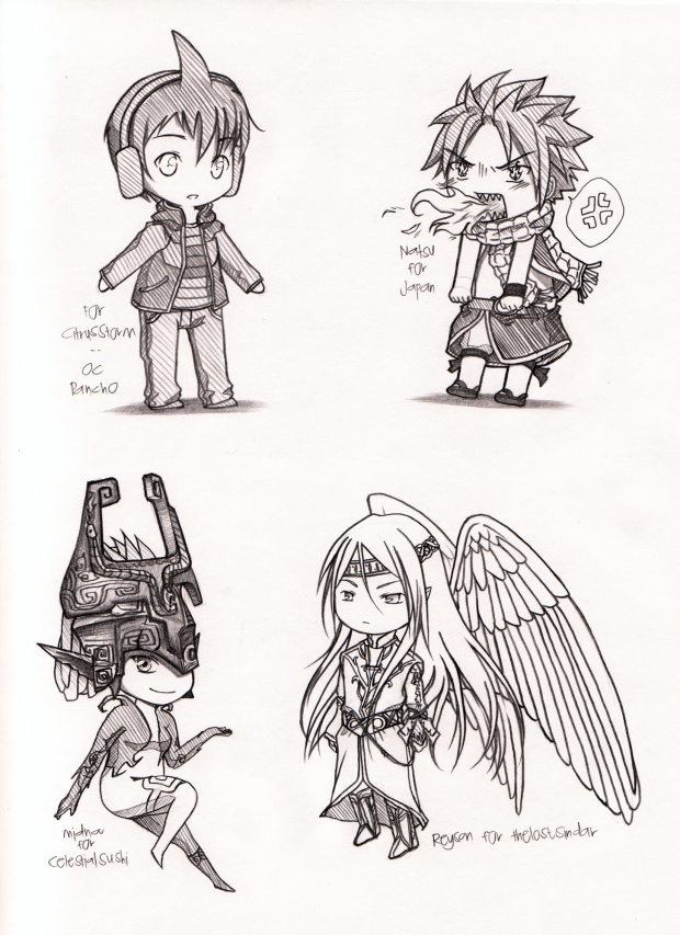 Chibi Requests Part 2/3