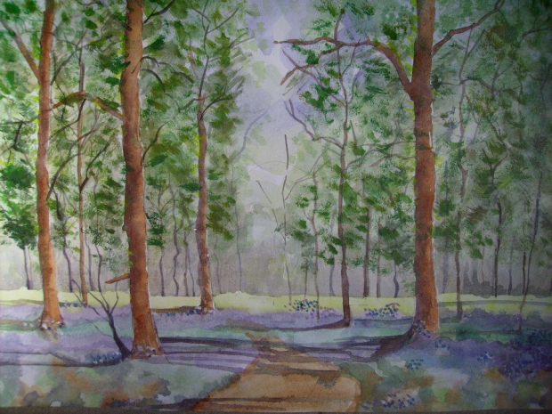 One tree painting