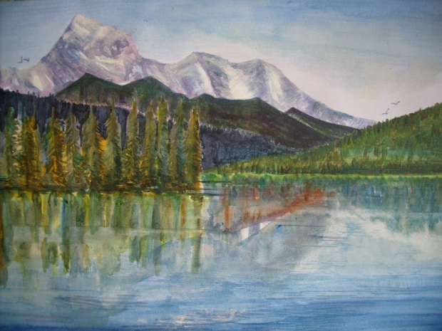 Cold Mountain Painting