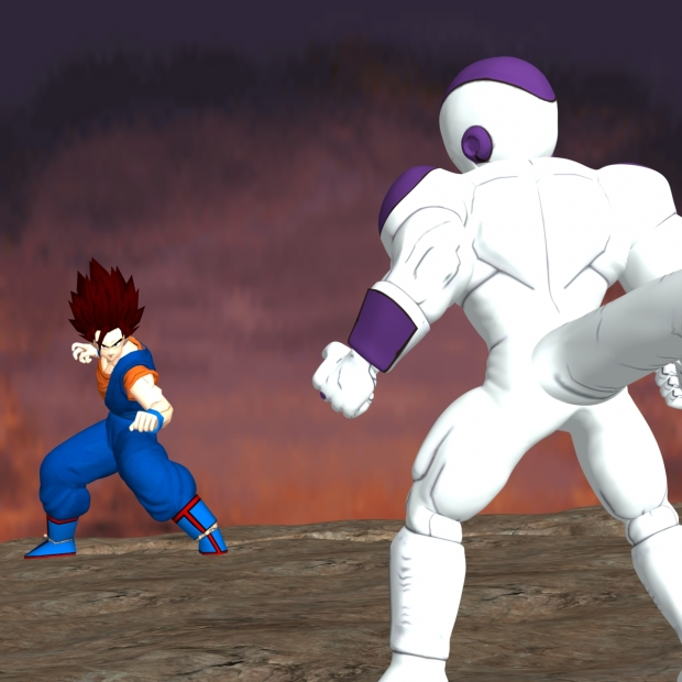 Vegto vs Super Frieza