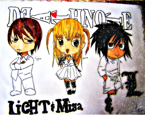 Death Note - CHIBI xD