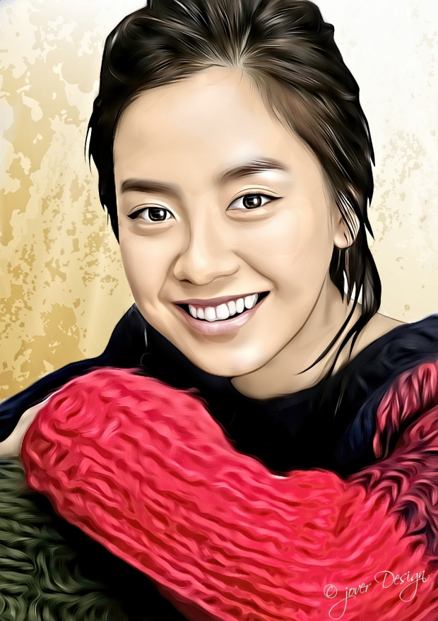 Song Ji Hyo Vector Art