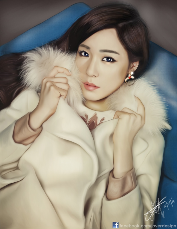 Tiffany Digital Painting