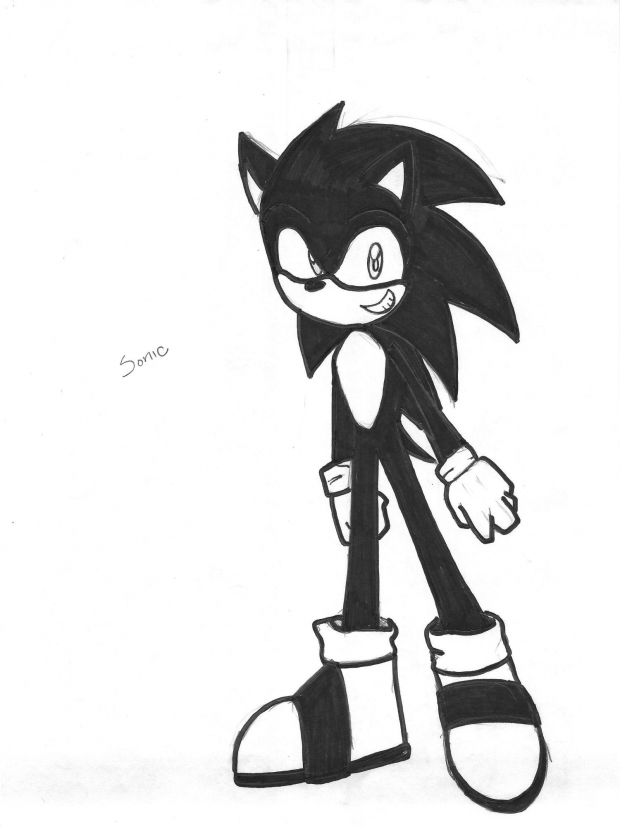 Black Colored Sonic