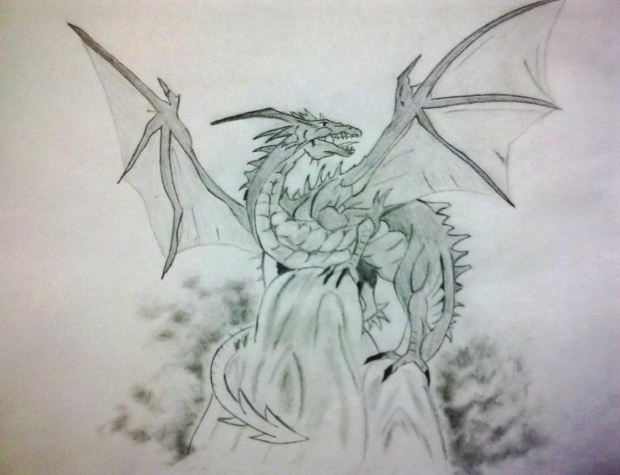 Dragon Sketch v2