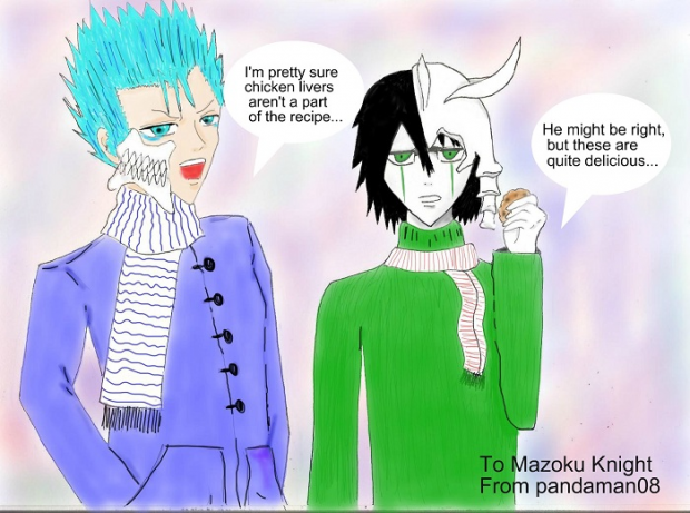 SS Fanart: Those two good looking guys from Bleach�