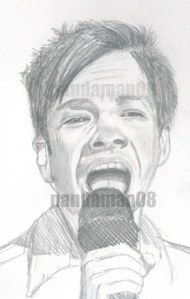 Sketch of Nate Ruess from FUN