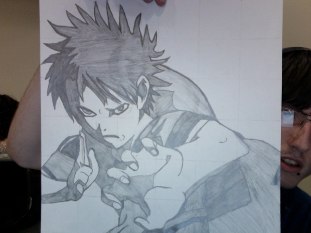 Final for Adv. Art Class (Gaara)
