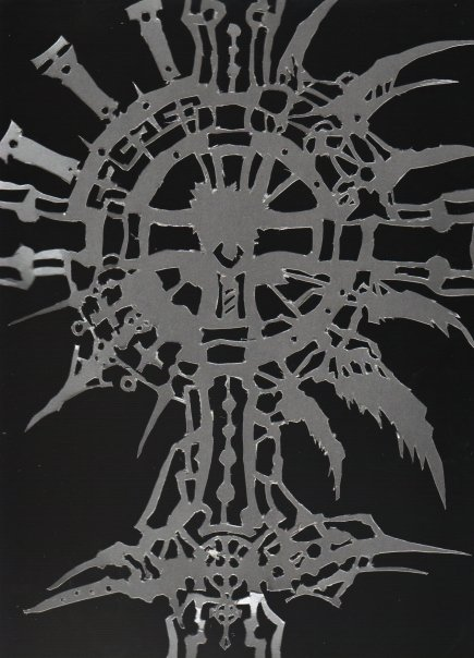 Trinity Blood cross window