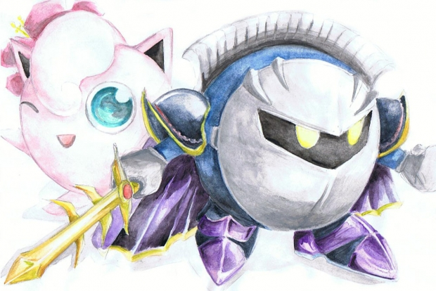 be my vale- meta knight.