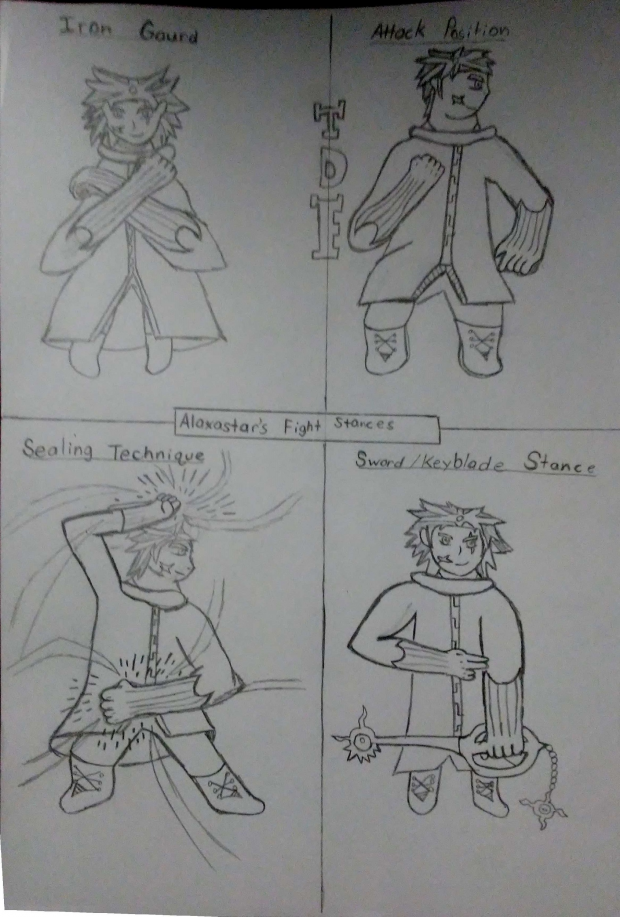 Alaxastar's Fight Stances