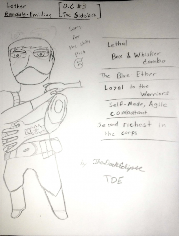 Lether Randale-Emillian (OC #4: The Sidekick)