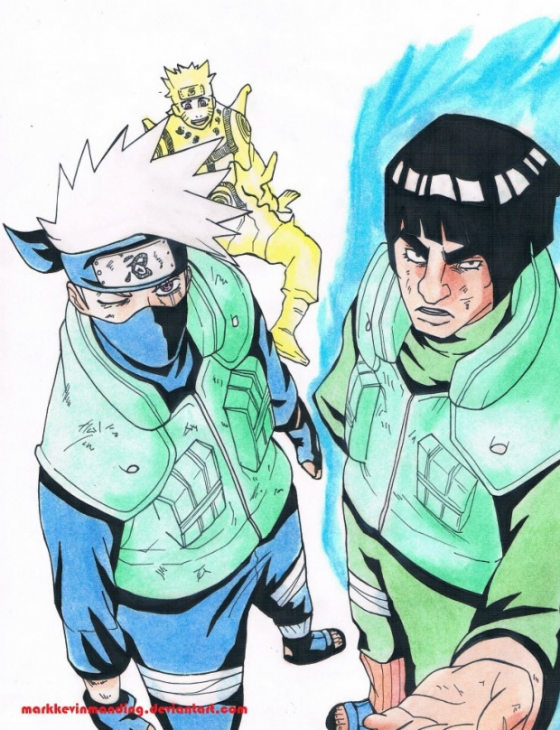 Kakashi and Guy