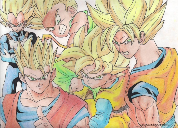 The Five Super Saiyans