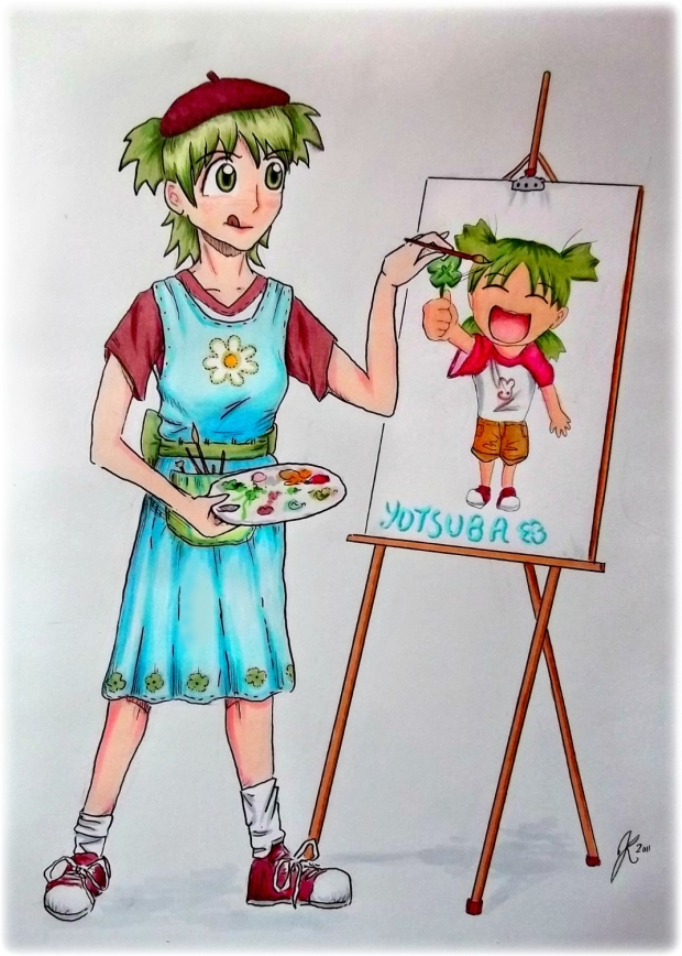 Yotsuba Grown up!