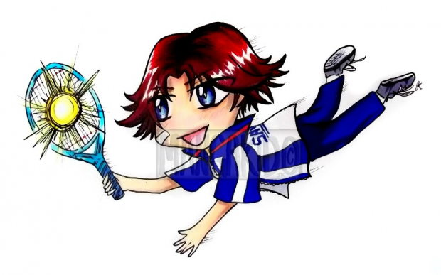 Eiji (chibi) from Prince of Tennis