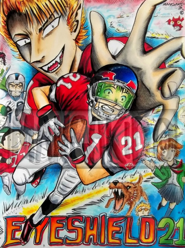 Everyone Wants Eyeshield 21!