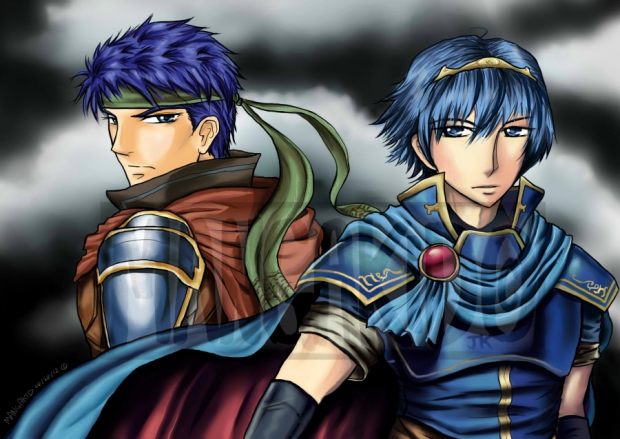 Ike+Marth=Awesome!!