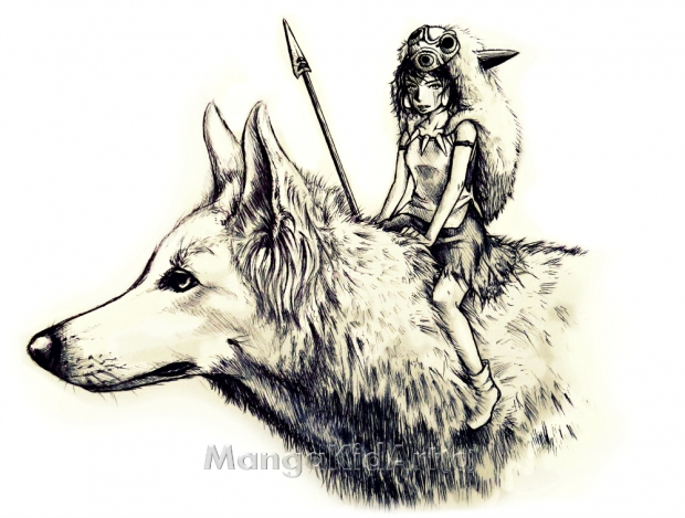Princess Mononoke-Only Pen