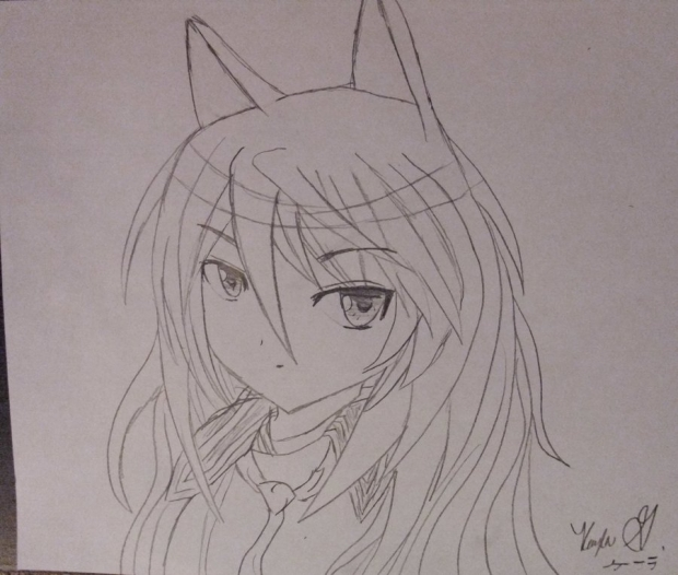 Wolf girl [first attempt]