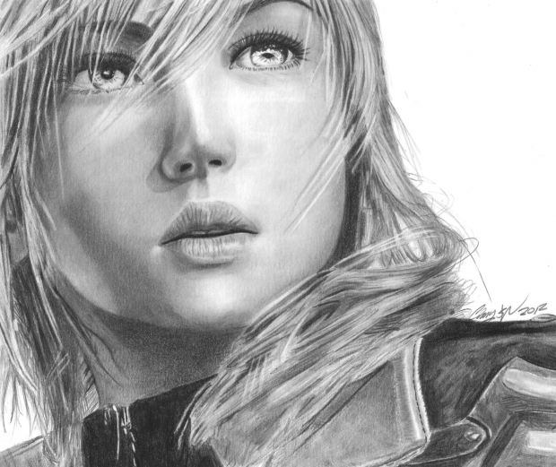 Lightning Final Fantasy XIII
