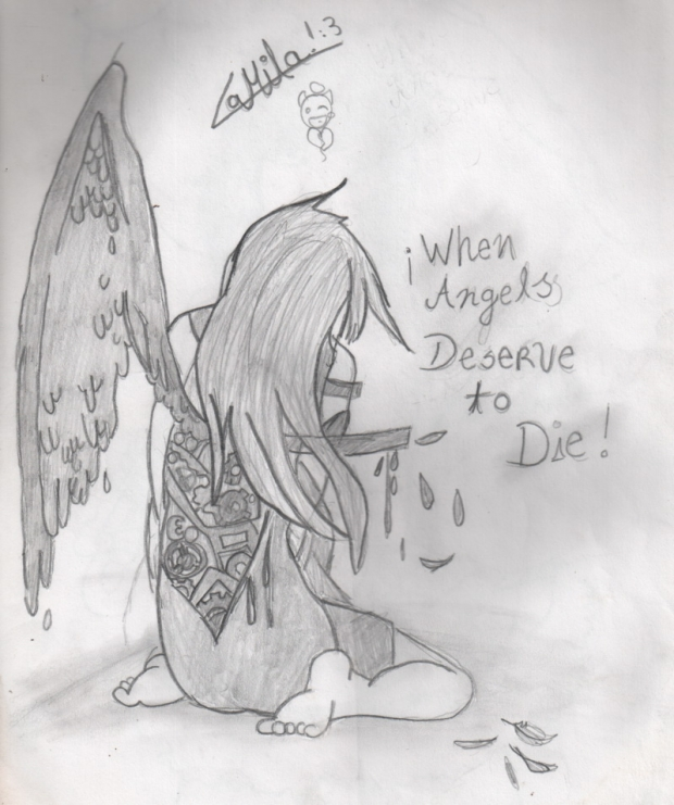 when angels deserve to die