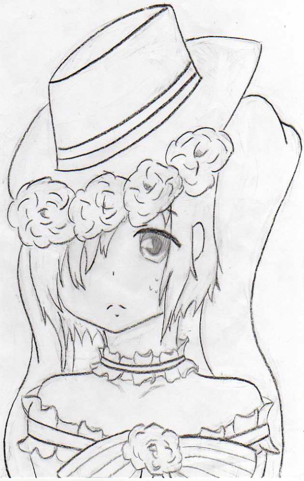 Ciel as a Girl Sketch