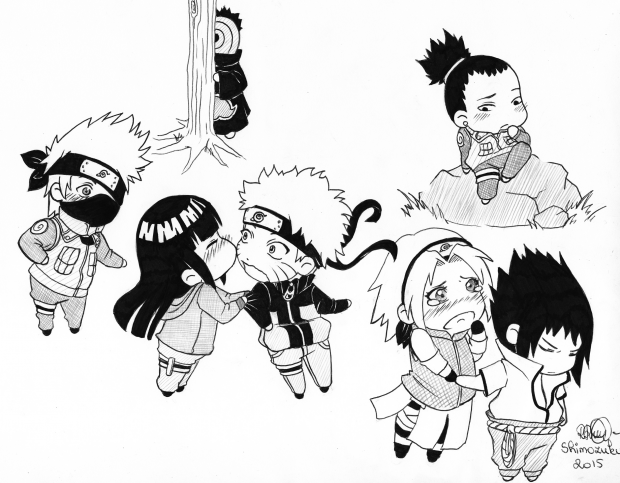 Shippuden Chibi group