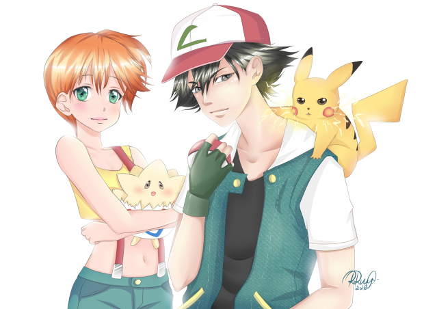 The first Pokemon Team