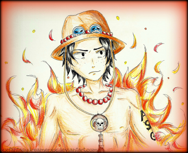Ace from One Piece