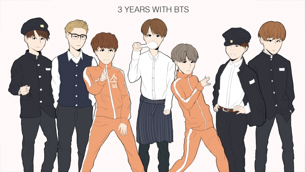 3 Years With BTS