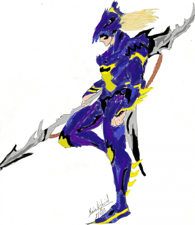 Kain Highwind (colored)