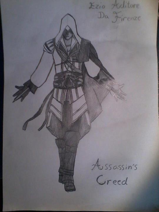 Assasins Creed Ezio Aditore Da Firenze