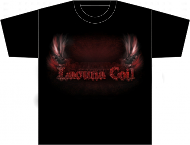 Lacuna Coil - Wings - Tshirt