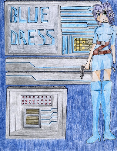 Rinslet in a Blue Dress