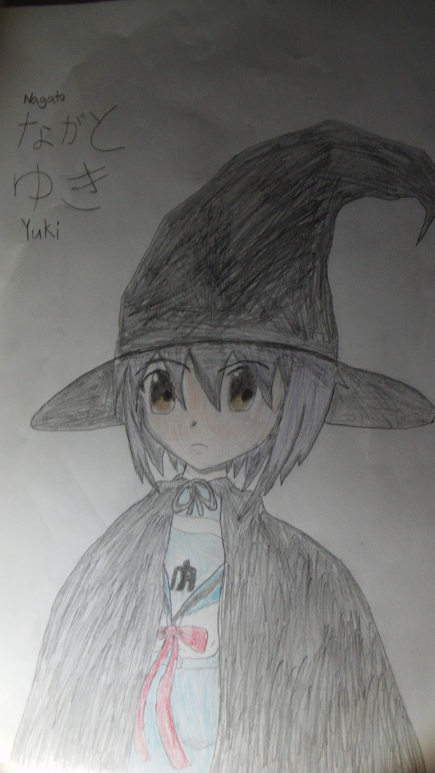 Yuki Nagato Witch
