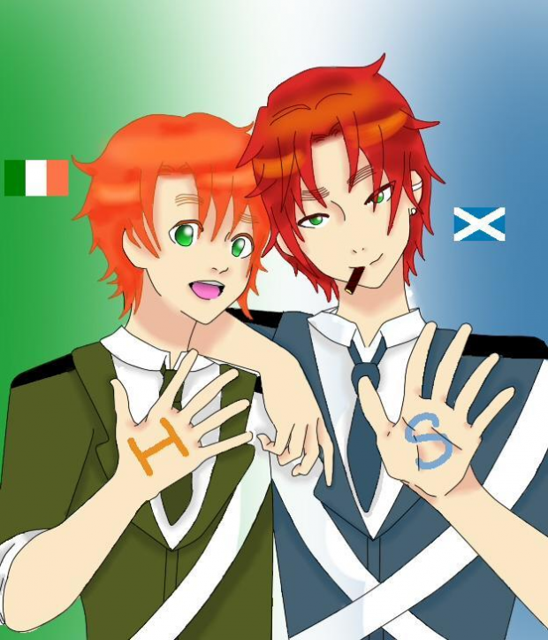 Ireland and Scotland