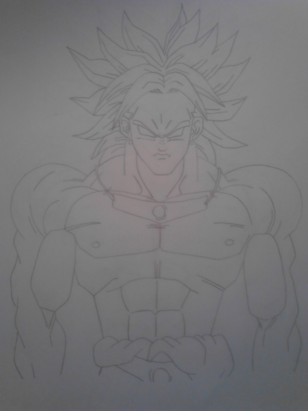 Broly drawing