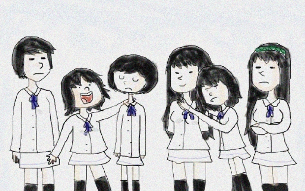 The best Kara No Shoujo fanart in the universe.