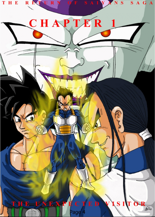 Dragon Ball X chapter cover preview