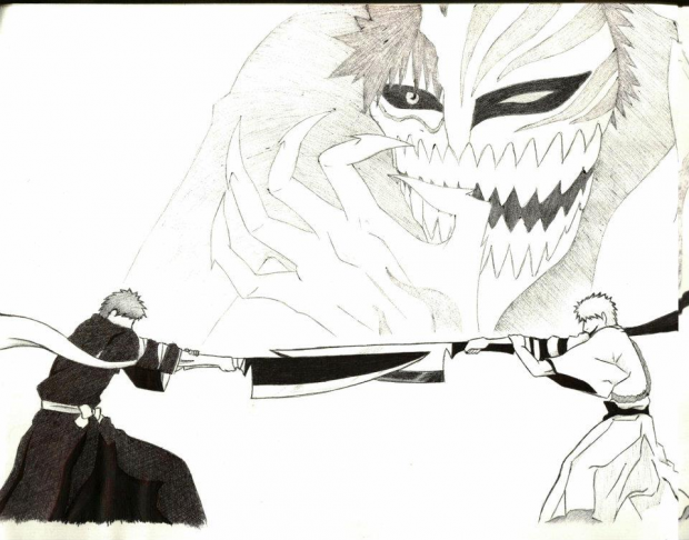 Ichigo, black vs white