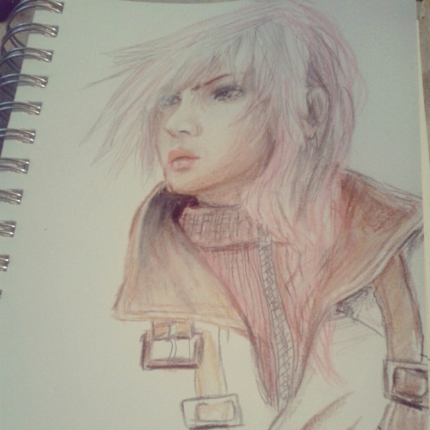 Color Pencil Lightning