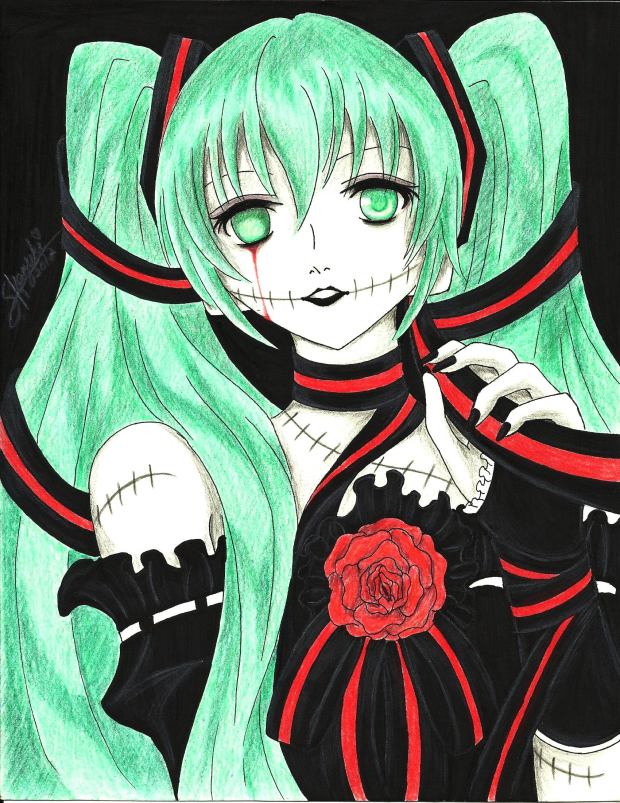 Vocaloid_Miku Hatsune [Creepy Doll]