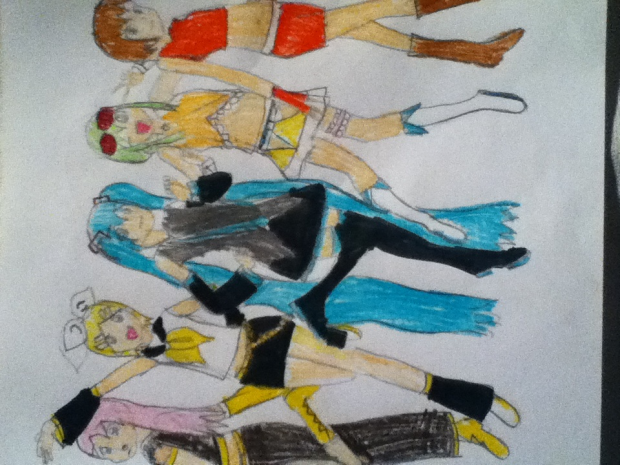 The Vocaloid Girls