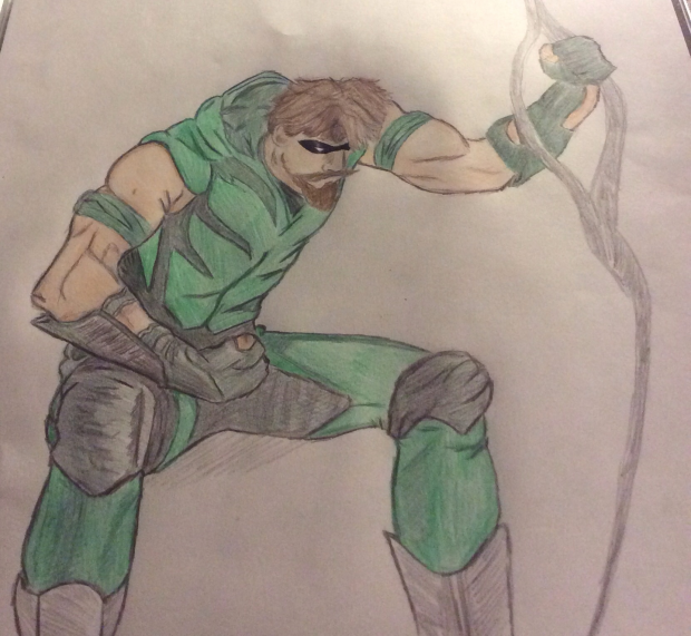 Another attempt green arrow